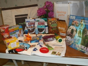 Swag from BlogPaws!